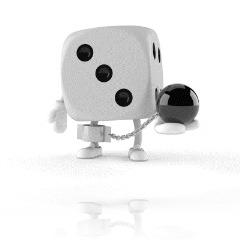 Dice with Ball and Chain iStock_000014503282XSmall